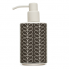 Orla Kiely soap dispenser, €28, from Unique and Unity, uniqueandunity.co.uk
