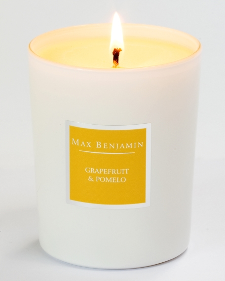 1. Max Benjamin Grapefruit and Pomelo, €19.95, available from Brown Thomas, Arnotts, Kilkenny, Avoca, Meadows & Byrne, and maxbenjamin.ie