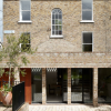 We love how the brickwork of the extension mirrors the original house.