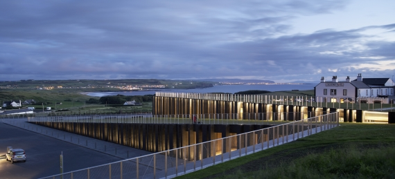 Heneghan Peng's Giant's Causeway Visitor Centre.
