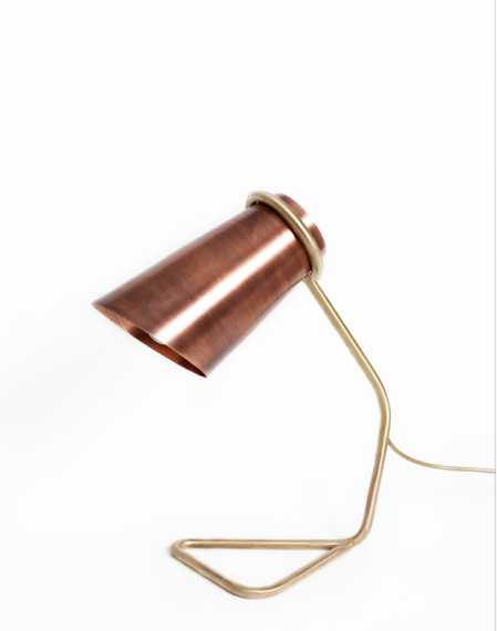 Andrew Clancy's elegant lamp has already featured in some of our photoshoots and sits high atop our lust list.