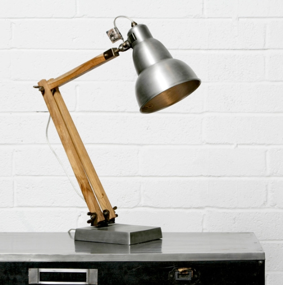 1. Adjustable desk lamp, €235, Industry