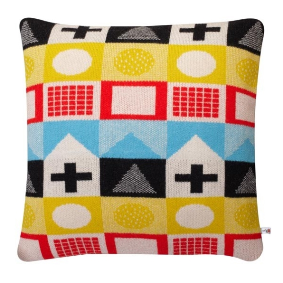 1. Playtime cushion in primary, €86, Donna Wilson