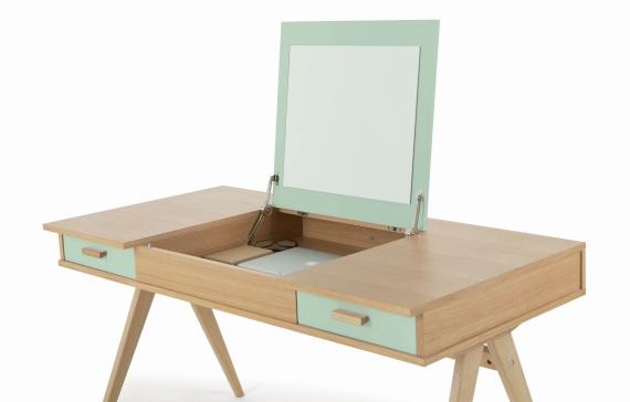 Stroller desk, designed by Steuart Padwick.