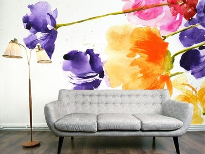 1. Floral wallpaper, around €97 per roll, Digitex Home