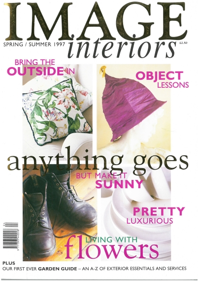 Just like the caption on the cover says, anything goes with this issue of Image Interiors!.