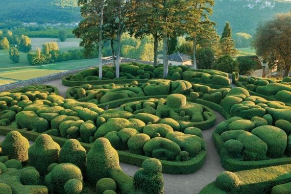Gardens of Marqueyssac in the Périgord