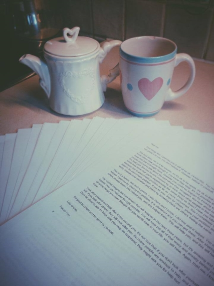Tea and Letters.