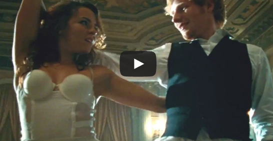 Thinking Out Loud music video