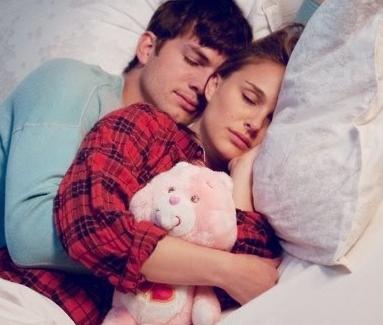 Spooning and cuddling.