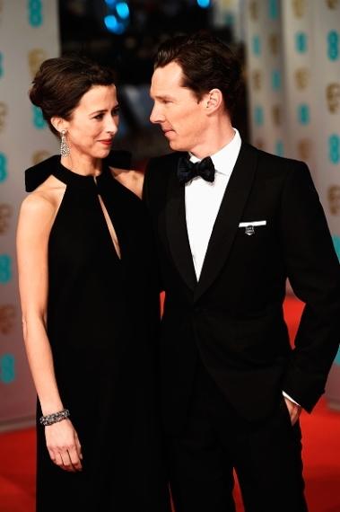 cumberbatch and wife