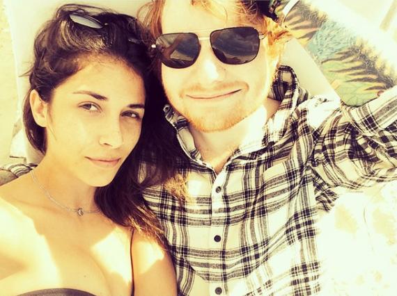ed sheeran's girlfriend