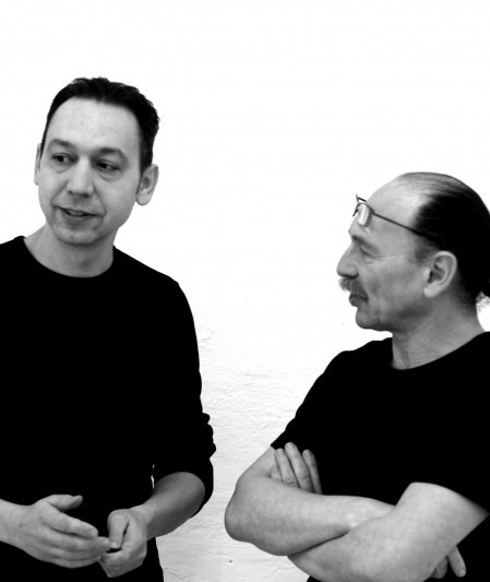 Designers Aleksej Iskos and Boris Berlin