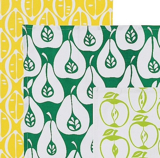 Assorted fruits tea towels from Marks & Spencer - image.ie/interiors