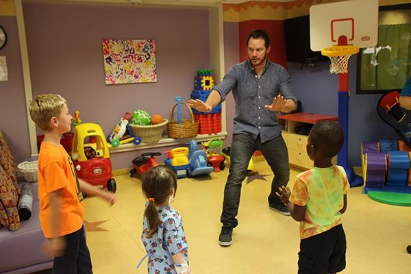 Chris Pratt kids