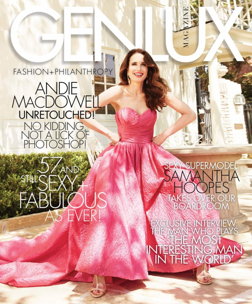 andie macdowell unretouched