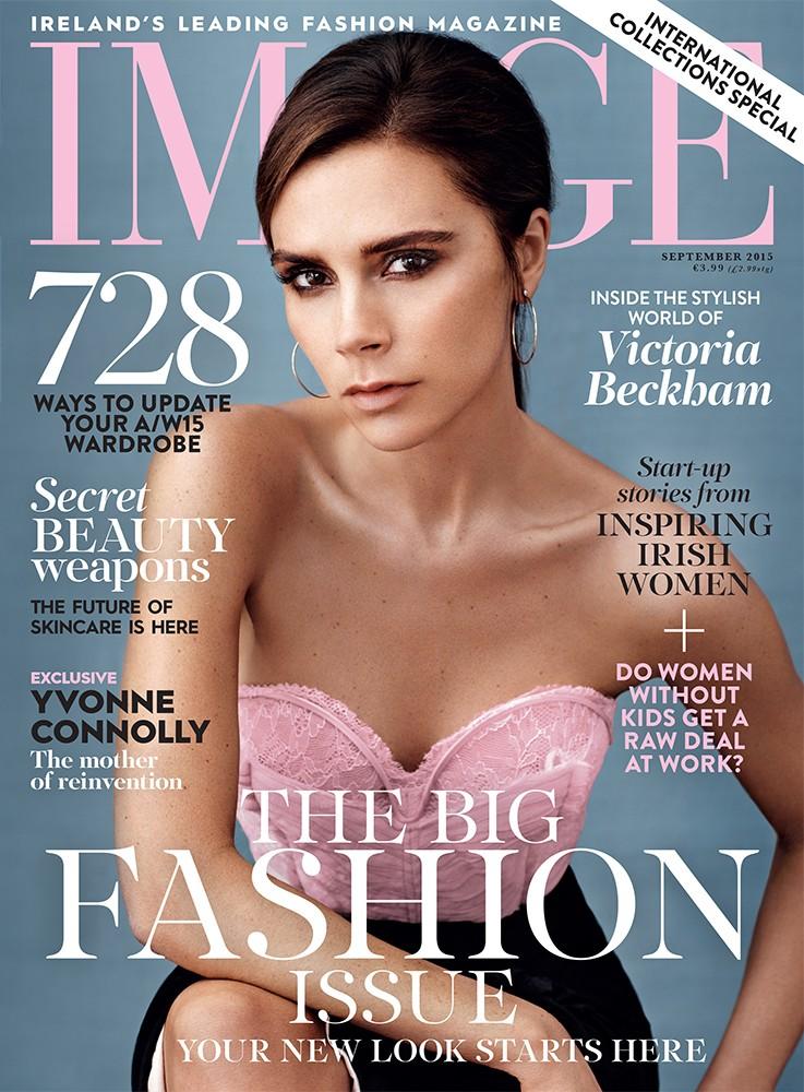 IMAGE September 2015 cover Victoria Beckham