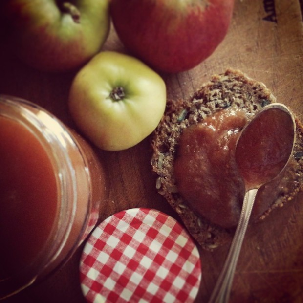Lilly Higgins' autumn spiced apple butter