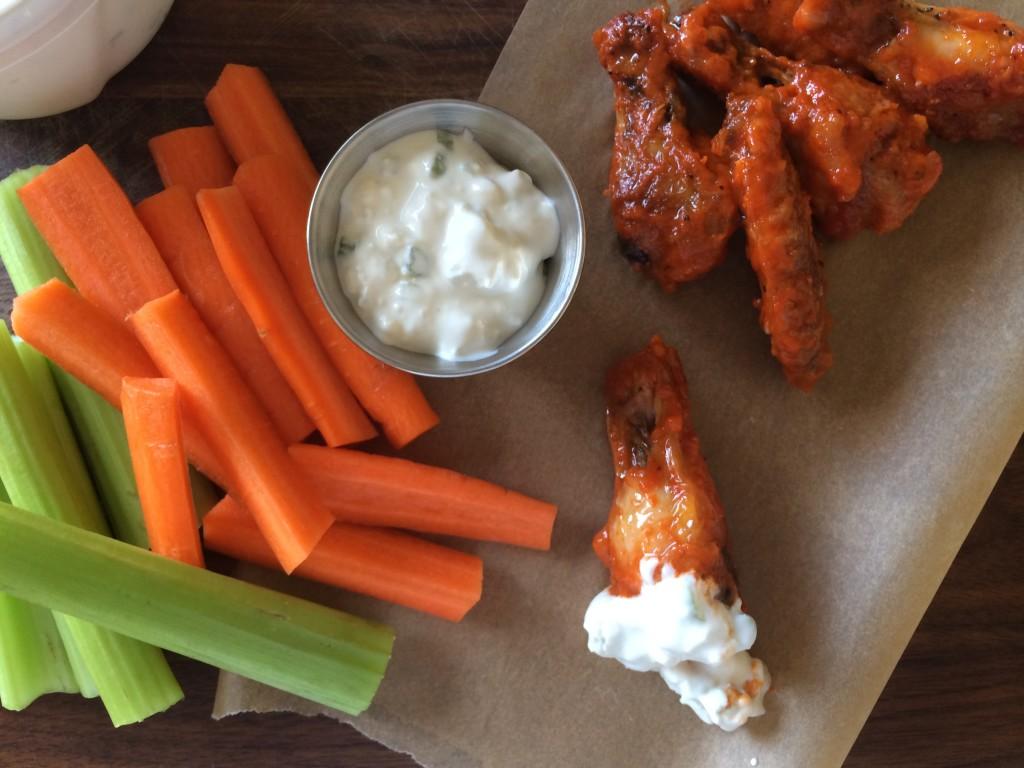 Chilli & garlic spicy Chicken Wings