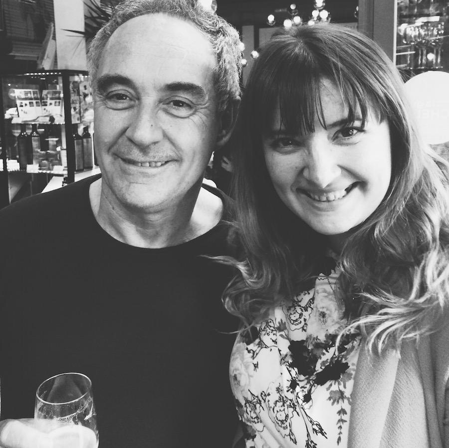 Ferran Adrià and Nathalie Marquez Courtney, Barcelona