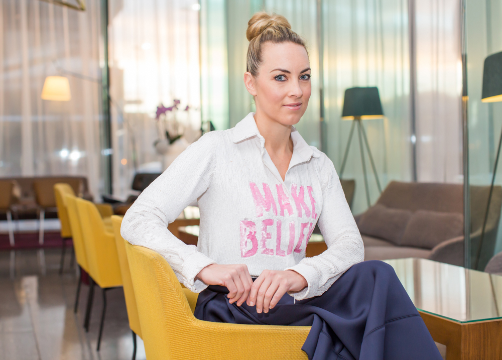 Kathryn Thomas pictured at the Image Networking Breakfast 'Bravery in Business' at the Marker Hotel. Photo: Anthony Woods