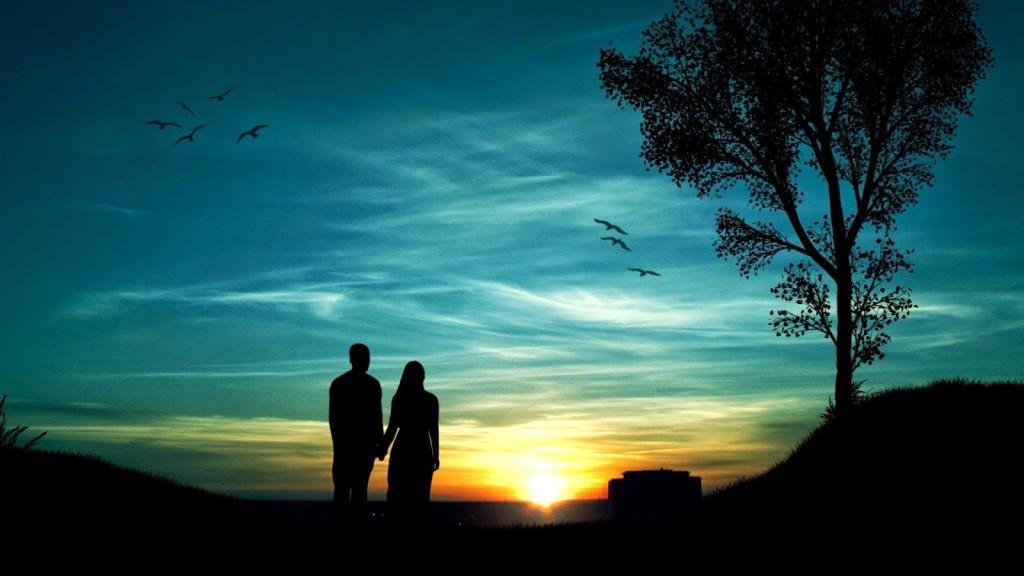 02 couple_sunset_blue_sky-1920x1080