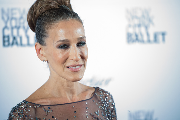 NEW YORK, NY - SEPTEMBER 30: Actress Sarah Jessica Parker attends the 2015 New York City Ballet Fall Gala at the David H. Koch Theater at Lincoln Center on September 30, 2015 in New York City. (Photo by Mark Sagliocco/Getty Images) sex and the city 2