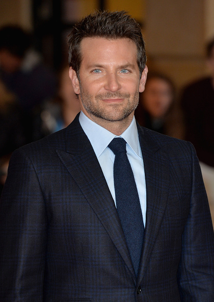 """LONDON, ENGLAND - OCTOBER 28: Actor Bradley Cooper attends the """"Burnt"""" European premiere at the Vue West End on October 28, 2015 in London, England. (Photo by Anthony Harvey/Getty Images)"""