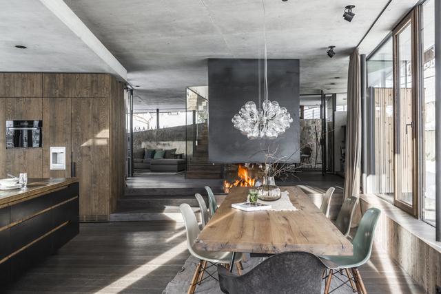 See Inside an Austrian Winter Wonderhome