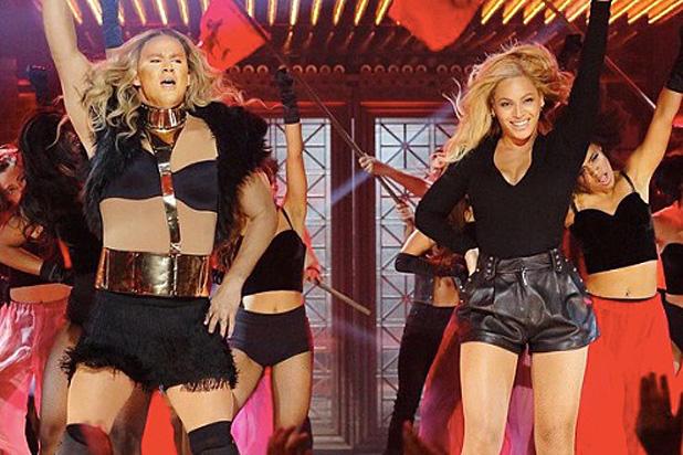 Channing Tatum and Beyonce