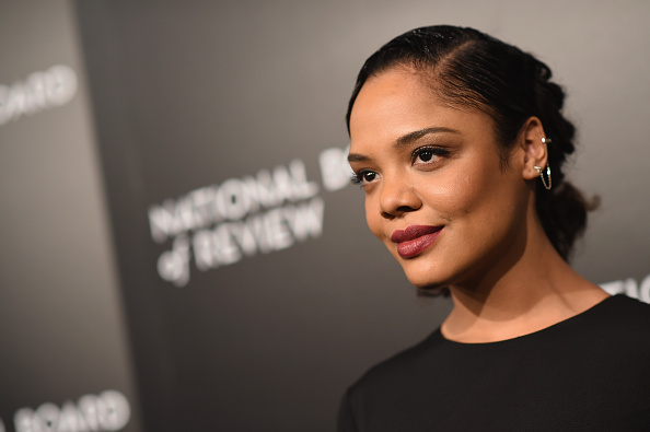 tessa thompson attends 2015 National Board of Review Gala at Cipriani 42nd Street on January 5, 2016 in New York City.