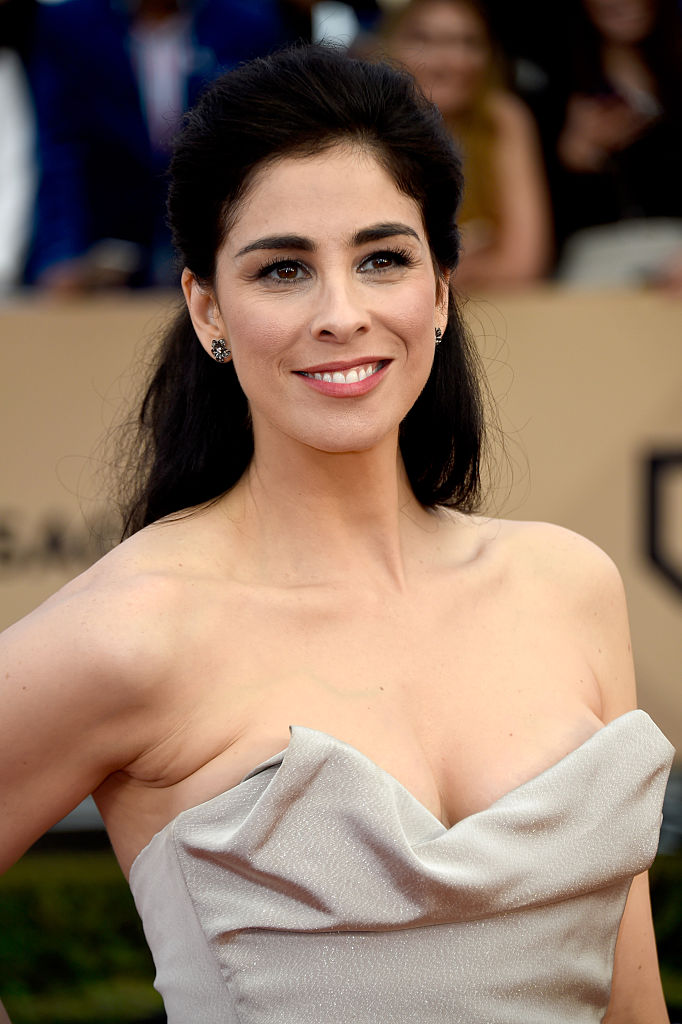 LOS ANGELES, CA - JANUARY 30:  Actress Sarah Silverman attends the 22nd Annual Screen Actors Guild Awards at The Shrine Auditorium on January 30, 2016 in Los Angeles, California.  (Photo by Frazer Harrison/Getty Images)