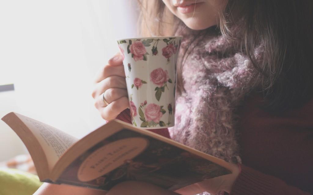 read-book-drink-tea