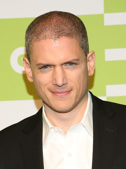 NEW YORK, NY - MAY 14:  Actor Wentworth Miller attends The CW Network's New York 2015 Upfront Presentation at The London Hotel on May 14, 2015 in New York City.  (Photo by Monica Schipper/Getty Images)